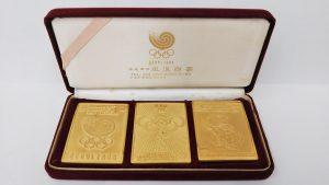 ソウルオリンピック,記念プレート,韓国