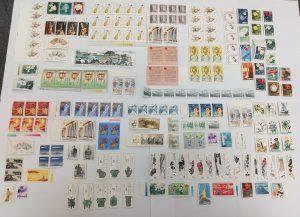 中国切手,切手,コレクション