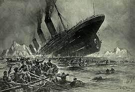 タイタニック号,沈没,事故