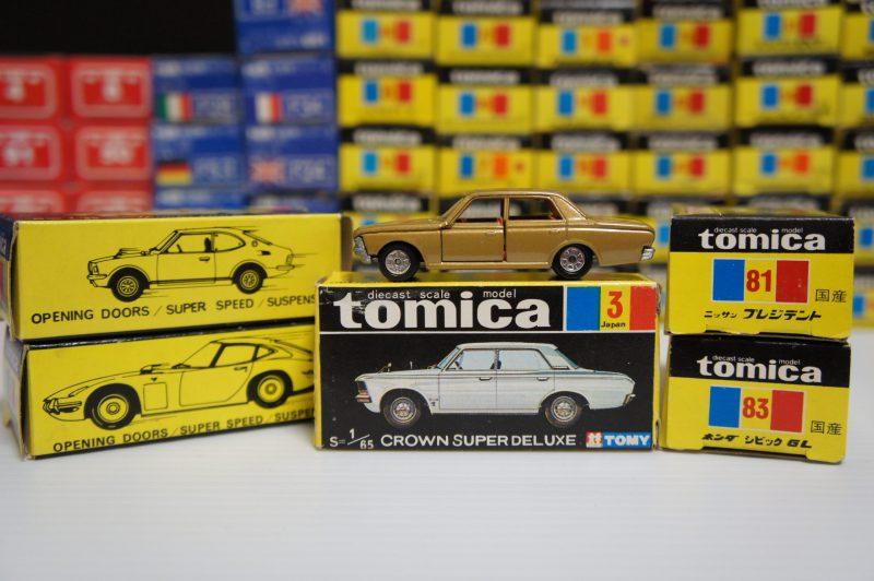 トミカ,ミニカー,黒箱