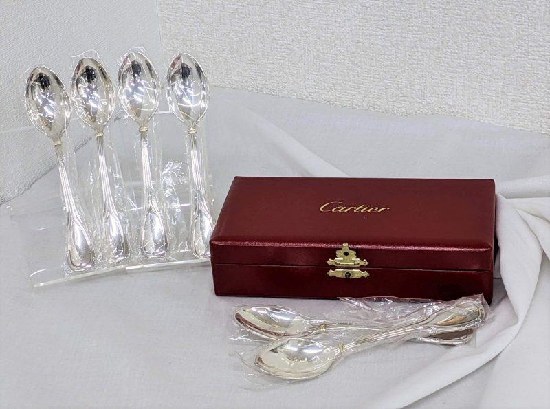 Cartier,カトラリー,スプーン