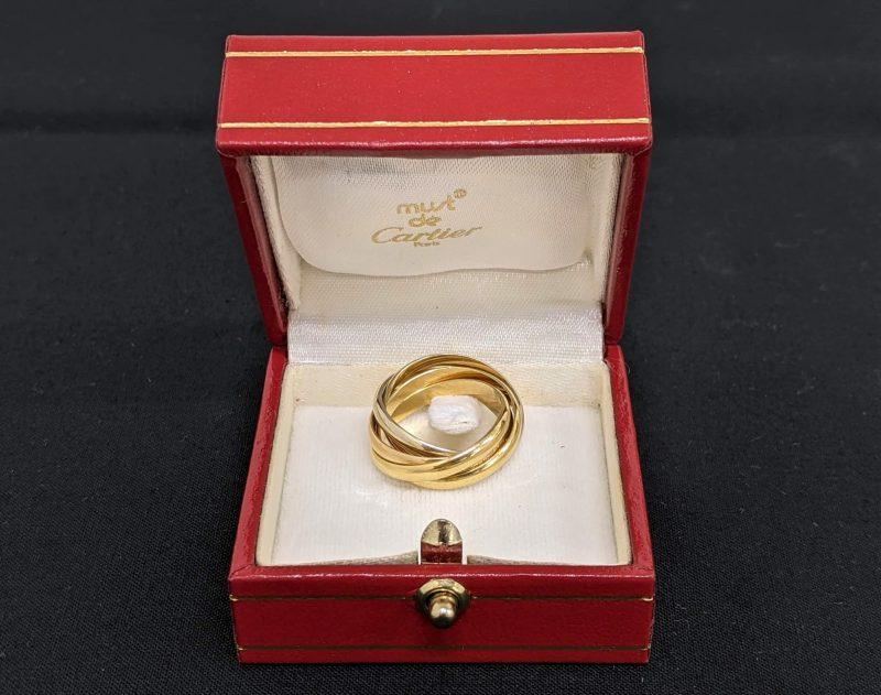 Cartier,トリニティ,5連リング