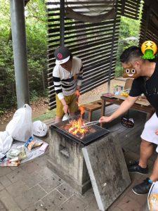 キャンプ,清水公園,BBQ