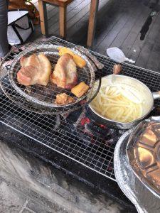 BBQ,燻製,キャンプ