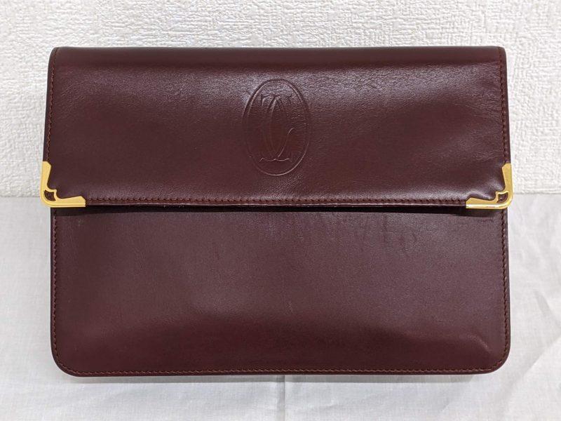 Cartier,マストライン,セカンドバッグ